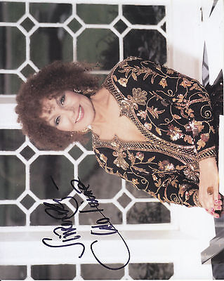 Cleo Laine Signed  10 Inch By 8 Inch Photograph