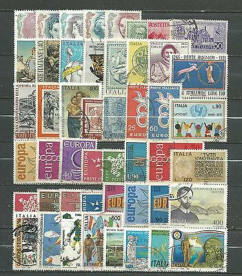 Italy, 48 Various, Used