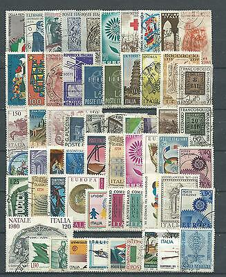 Italy, 60 Various, Used