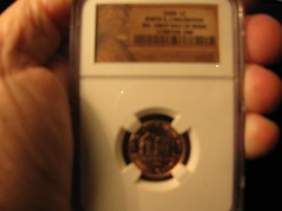 2009 First Day Of Issue Lincoln Cent **ngc** Birth & Childhood