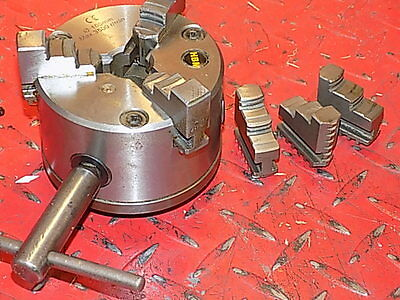 "Hbm New  4"" 3 Jaw Lathe Chuck For Myford Ml7 Super 7 Engineers Lathe"