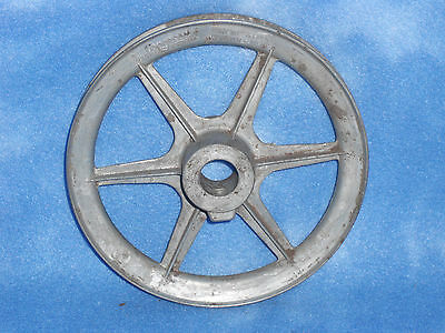 """Vintage 6"""" Metal Congress Drives Pulley A-600 Industrial Steam Punk"""