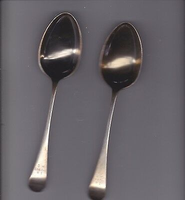 Ww 1 Officers Mess Cutlery, 2 Table Spoon, 326 Coy R.e., Butler Art Plate