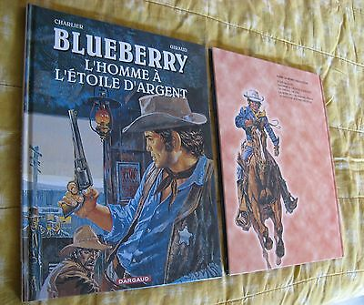 BD BLUEBERRY L'HOMME a L'ETOILE d'ARGENT ALBUM NEUF DARGAUD ESSO GIRAUD CHARLIER