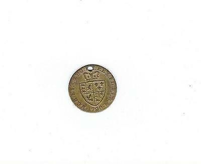 1790 George III Guinea Gaming Token Coin