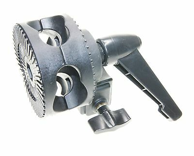 Ex-Pro Single Swivelling Grip Head Angle Tilt Mount Clamp for Boom Reflector Arm
