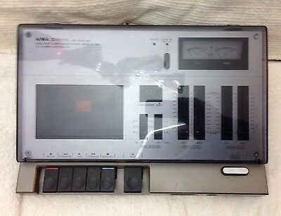 Retro Vintage Aiwa AD-1250 Solid State Stereo Cassette Deck.