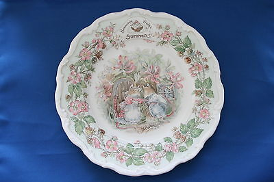 Royal Doulton Brambly Hedge Plate - Summer