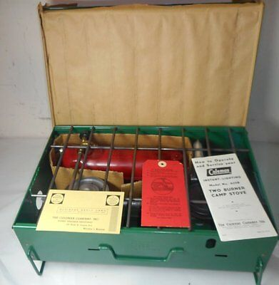1950's - Pre 1963 Coleman 425B Campstove Never Used - Excellent Condition