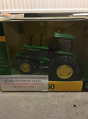 John Deere 1:32 Scale 3650 Tractor With Rear Dual Wheels Conversion
