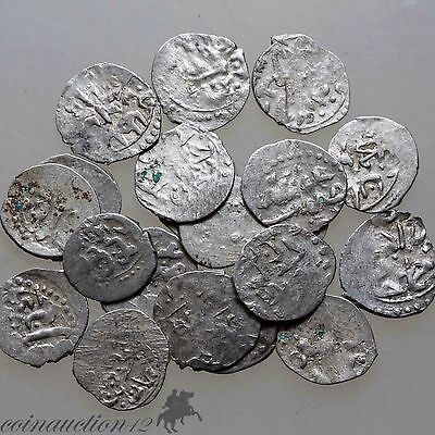 Lot Of 20 Ottoman Ackce Silver  Coins