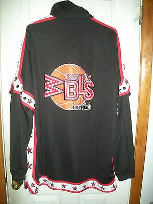 WBLS 107.5 NYC Radio Sure Shots Basketball Warm Up Suit Rap Attack Mr Magic
