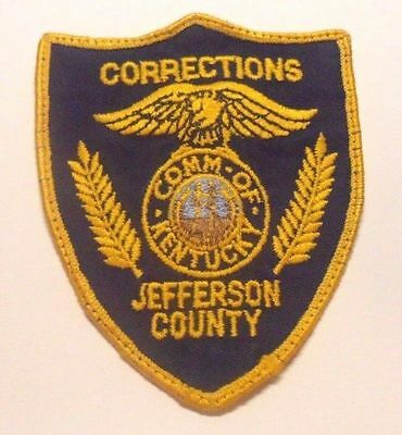 Jefferson County Kentucky Corrections Patch
