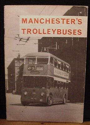 Manchester's Trolleybuses 1967 Manchester Transport Museum Society 72 Pages