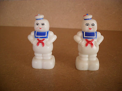 Pair Of Ghostbusters Sta Puft Marshmallow Man Pencil Sharpeners Characters