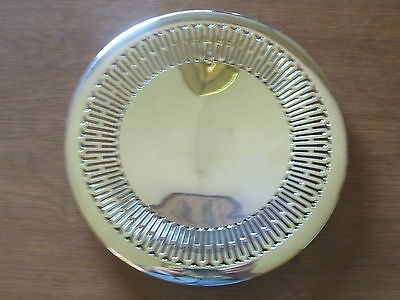 Nice Sterling Silver Pierced Cake Plate/dish/platter/tray