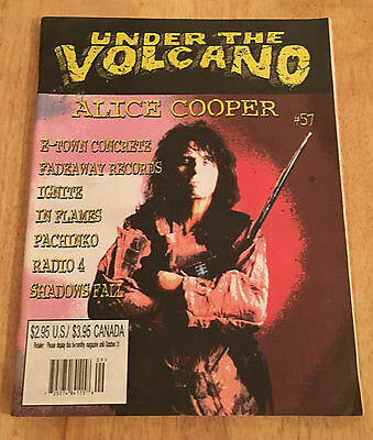 Under The Volcano ~ Alice Cooper Cover ~ Issue #57 Nm