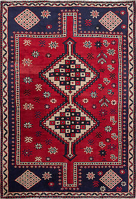 "Hand-knotted Persian Carpet 6'5"" x 9'3"" Persian Wool Rug...DISCOUNTED!"