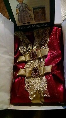 American Girl Doll Felicity's Gala Gown Holiday Outfit  New Retired