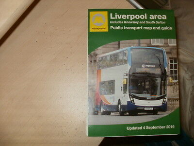 Merseytravel-MPTE;Liverpool area,fold-out,glossy,full colour Bus map/guide;09/16