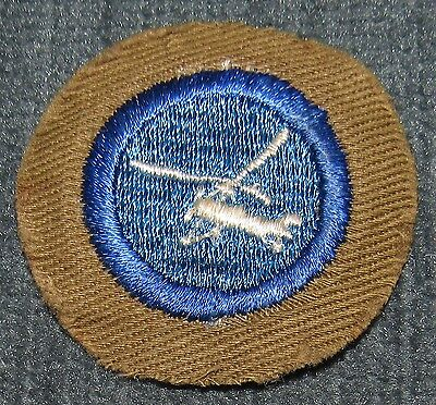 Boy Scouts of America BSA Air Scout Airplane Design Merit Badge Type C 1942-1946