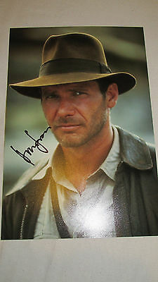 Signed Indiana Jones 12x8! By Harrison Ford