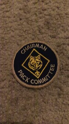 "Chairman Pack Committee  3""  Sew On Patch Nice !"