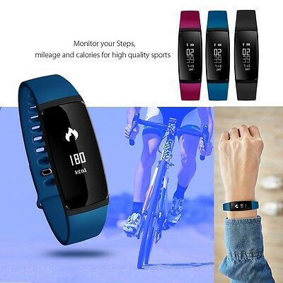 V07 Bluetooth Smart Watch Blood Pressure Heart Rate Monitor For Android iphone