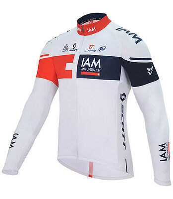 Windjacke IAM Cycling Team Silver Wind Shield Jacket 2016