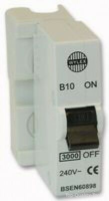 10A PLUG IN CIRCUIT BREAKER Part No. SFB10 By WYLEX