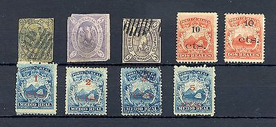 South America  9 Classic St.  We Think  All Forgeries  , F/vf   For  Reference