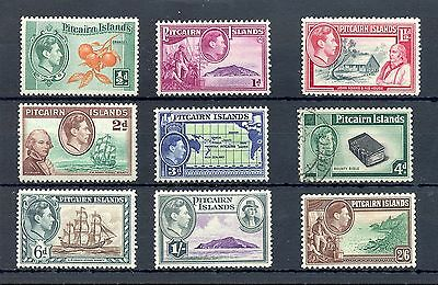 Pitcairn Islands  9  Stamps  * /0  Vf