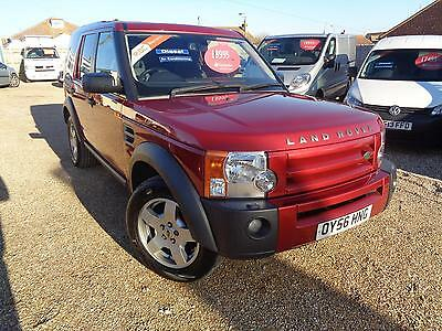 2006 Land Rover DISCOVERY 3 TDV6 S Manual Estate