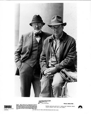 INDIANA JONES and the LAST CRUSADE photo print - HARRISON FORD, SEAN CONNERY