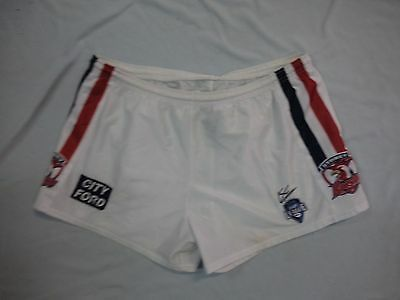 #uu1. Large   Rugby League Shorts - Sydney  Roosters