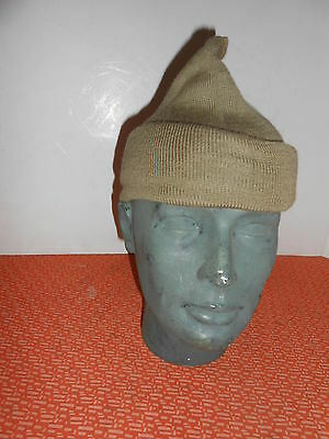 BRITISH ARMY :: 1943 WWII  COMMANDO WOOL CAP or SCARF COMFORTER 1943  WWII