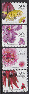 2007 Australian Wildflowers - Complete Set of Booklet Stamps
