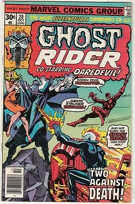 Ghost Rider #20 The strict VF/NM- 9.0 High-Grade   Appearance - Daredevil