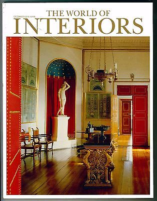 World Of Interiors Magazine December 2016 Limited Edition Collectors Cover New