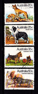 1980 Australian Dogs - Complete Set of Used Stamps