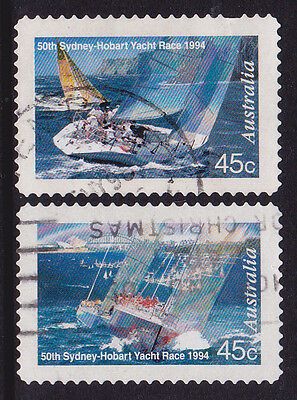 1994 Sydney Hobart Yacht Race - Complete Set of Used Booklet Stamps