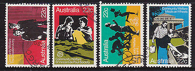 1980 Community Welfare - Complete Set of Used Stamps