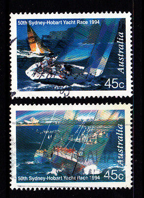 1994 Sydney Hobart Yacht Race - Set of Used Stamps