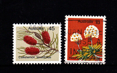 1975 Australian Wildflowers - Complete Set of Used Stamps