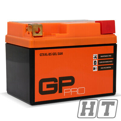 Batterie 12V 5Ah GEL Gp - Pro für Ride Flash 50 Sachs 49Er Rex Rs 450 Baja Be500
