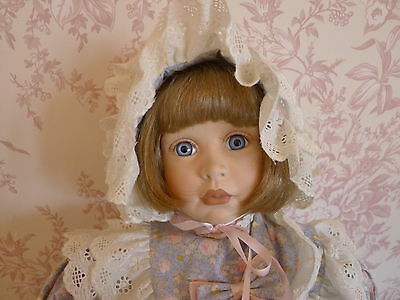 """Porcelain Doll – Limited Edition by Alberon, Holly – 24"""" - New"""