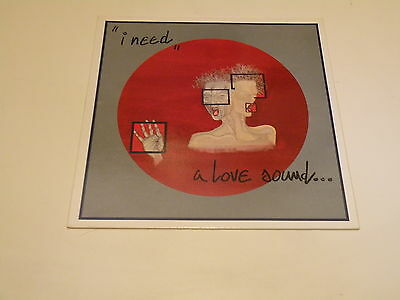 A Love Sound... - I Need - Lp 1984 Contempo Records Made In Italy - Ois -