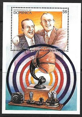 Dominica Sgms2157 1996 Radio Entertainers   Mnh