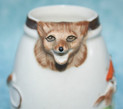 Portland Pottery Cobridge Small Hunting Fox Jug for Whisky or Water