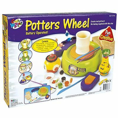 Potters Wheel Creative Toy Set By Leomark New & Boxed Kids Fun